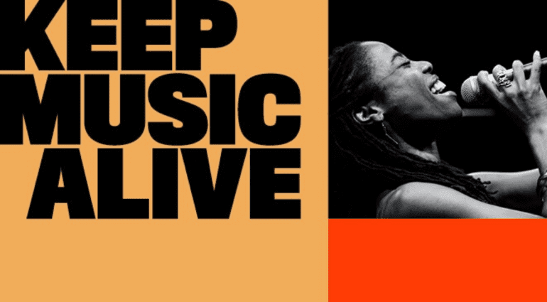 Keep Music Alive Royalties Campaign