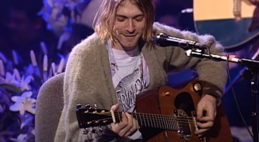 Kurt Cobain's iconic MTV Unplugged Martin up for auction