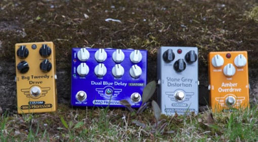 Mad Professor Amplification creates Modded Pedals
