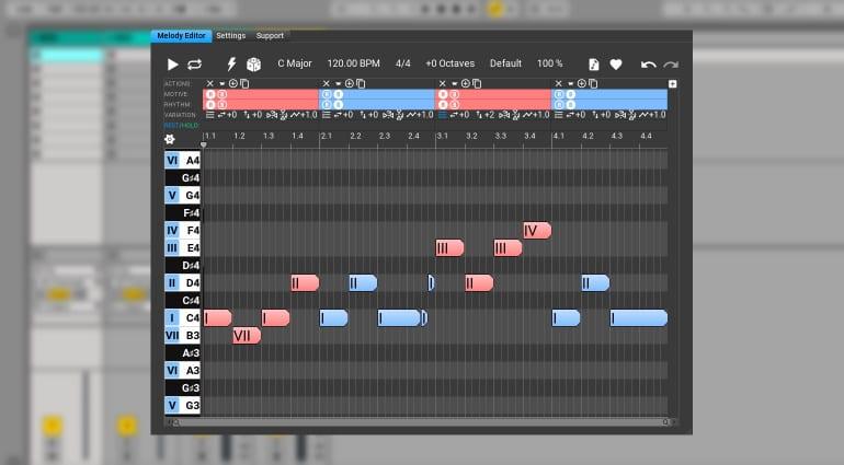 Melodya melody generator