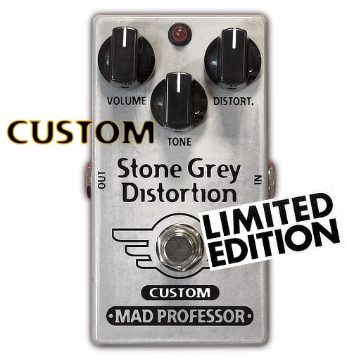 Mad Professor Stone Grey Distortion Modernized mod