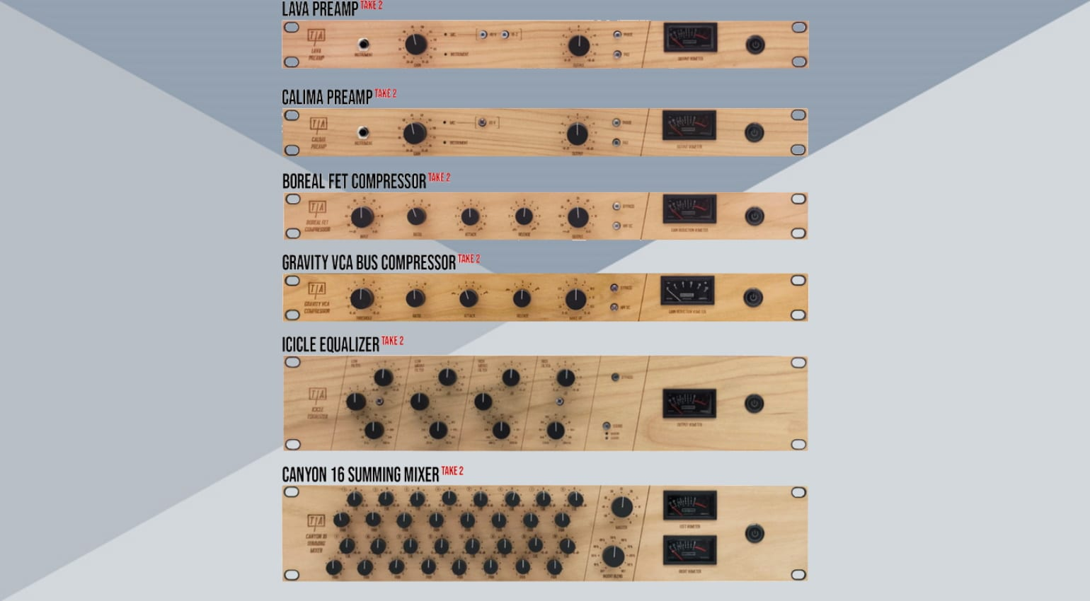 Tierra Audio Analog Gear Kickstarter
