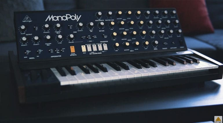 Behringer MonoPoly ready for production
