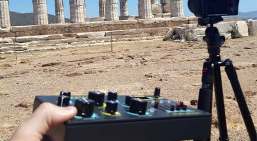Dreadbox at the Temple of Poseidon