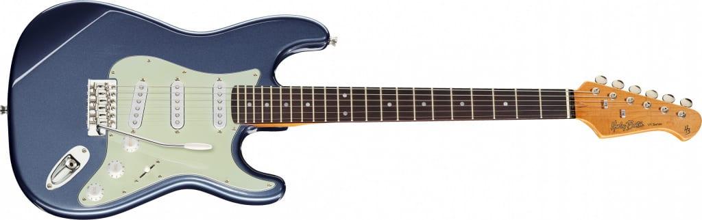 Harley Benton ST-62CC Lake Placid Blue with rosewood fretboard