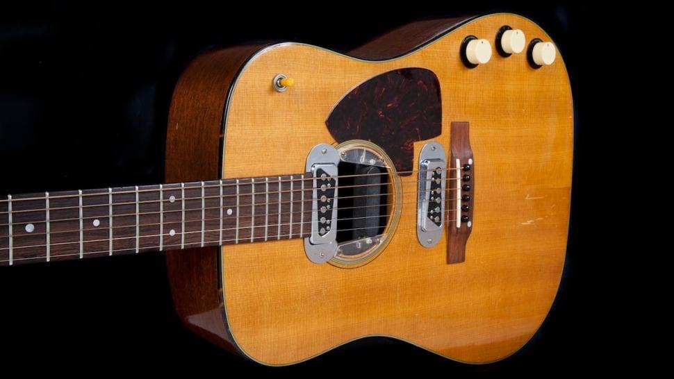 Kurt Cobain MTV Unplugged Martin