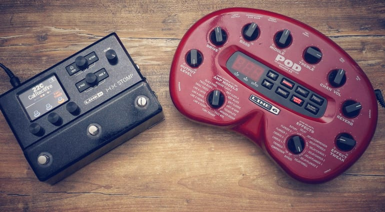 Line 6 HX Stomp vs. POD 2.0