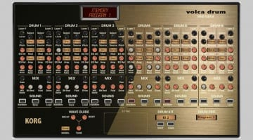 Momo Korg Volca Drum Editor