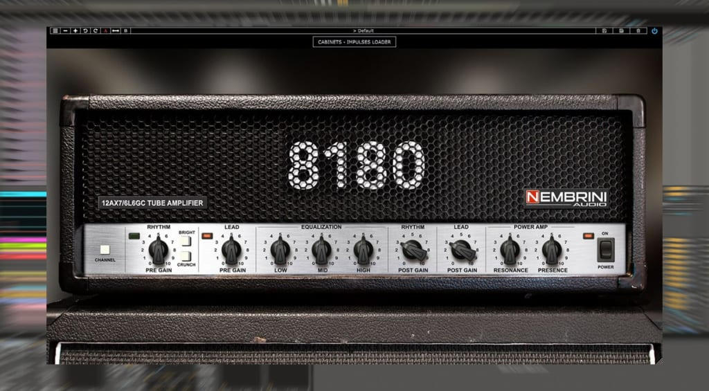 8180 Monster Tube Guitar Amplifier Plug-in