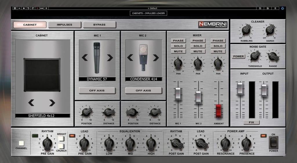 Nembrini Audio 8180 controls