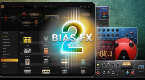 BIAS FX 2 Mobile for Apple iPhone and iPad