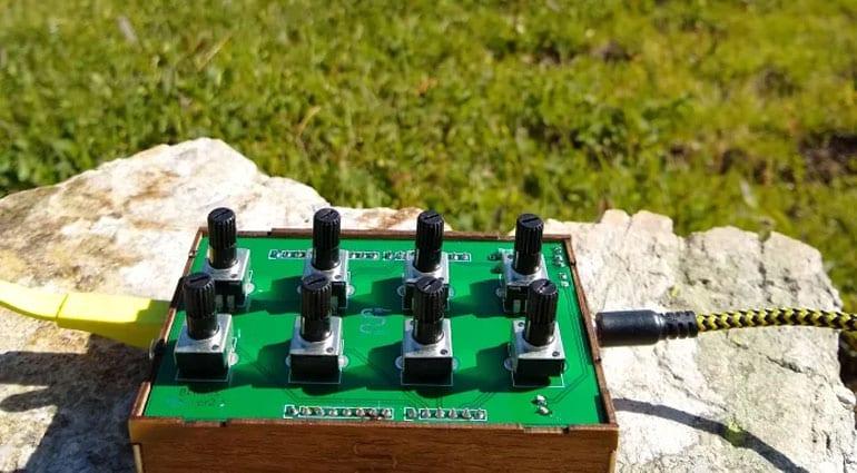 Sound Codes 8knob