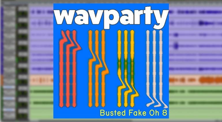 wavparty busted fake oh 8 cover art