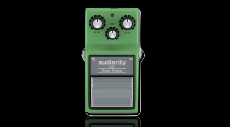 Audiority Green Reaper GR9 - TubeScreamer stomp box plugin