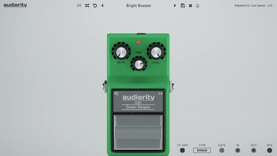 Audiority Green Reaper plugin