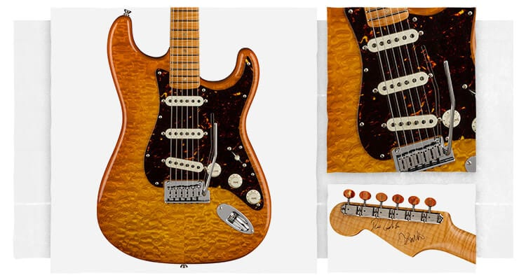 Crew Nation Tamo Stratocaster by Jason Smith and Dennis Crew Nation