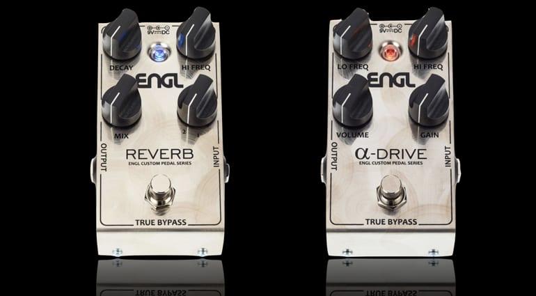 DEAL- ENGL Custom Alpha Drive & Custom Reverb over 50% off