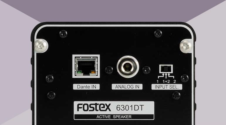 Fostex 6301DT rear