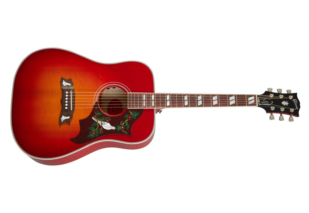Gibson Frank Hannon Love Dove - Vintage Cherry Sunburst