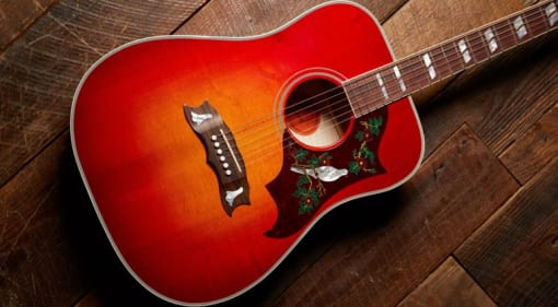 Gibson Frank Hannon signature Love Dove acoustic guitar