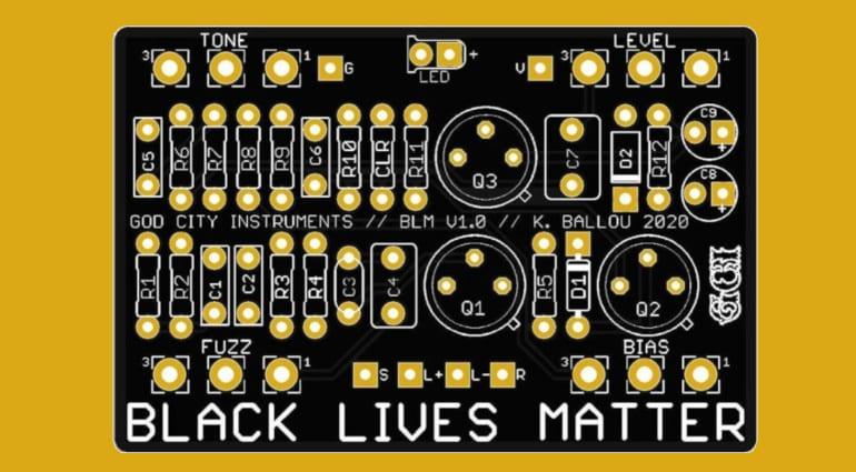 God City Music DIY PCB Black Lives Matter