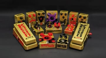 JAM Pedals announces limited, signed, gold stompboxes for COVID-19 relief