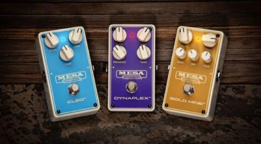 Mesa:Boogie Cleo, Dynaplex, and Gold Mine