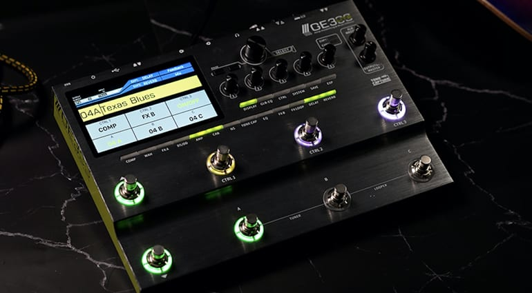 Mooer GE300 LITE new feature packed floor pedal