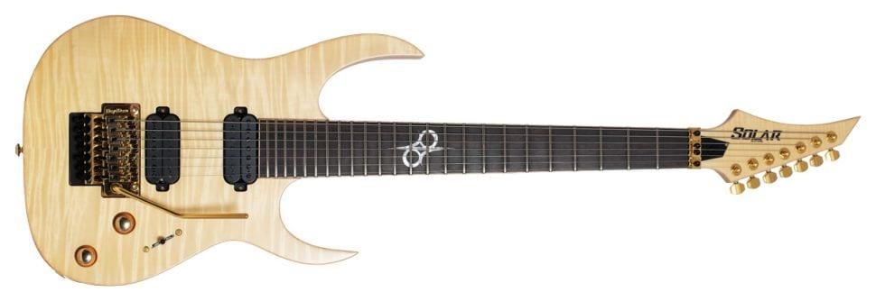 Solar Guitars SB1.7FRFM seven-string