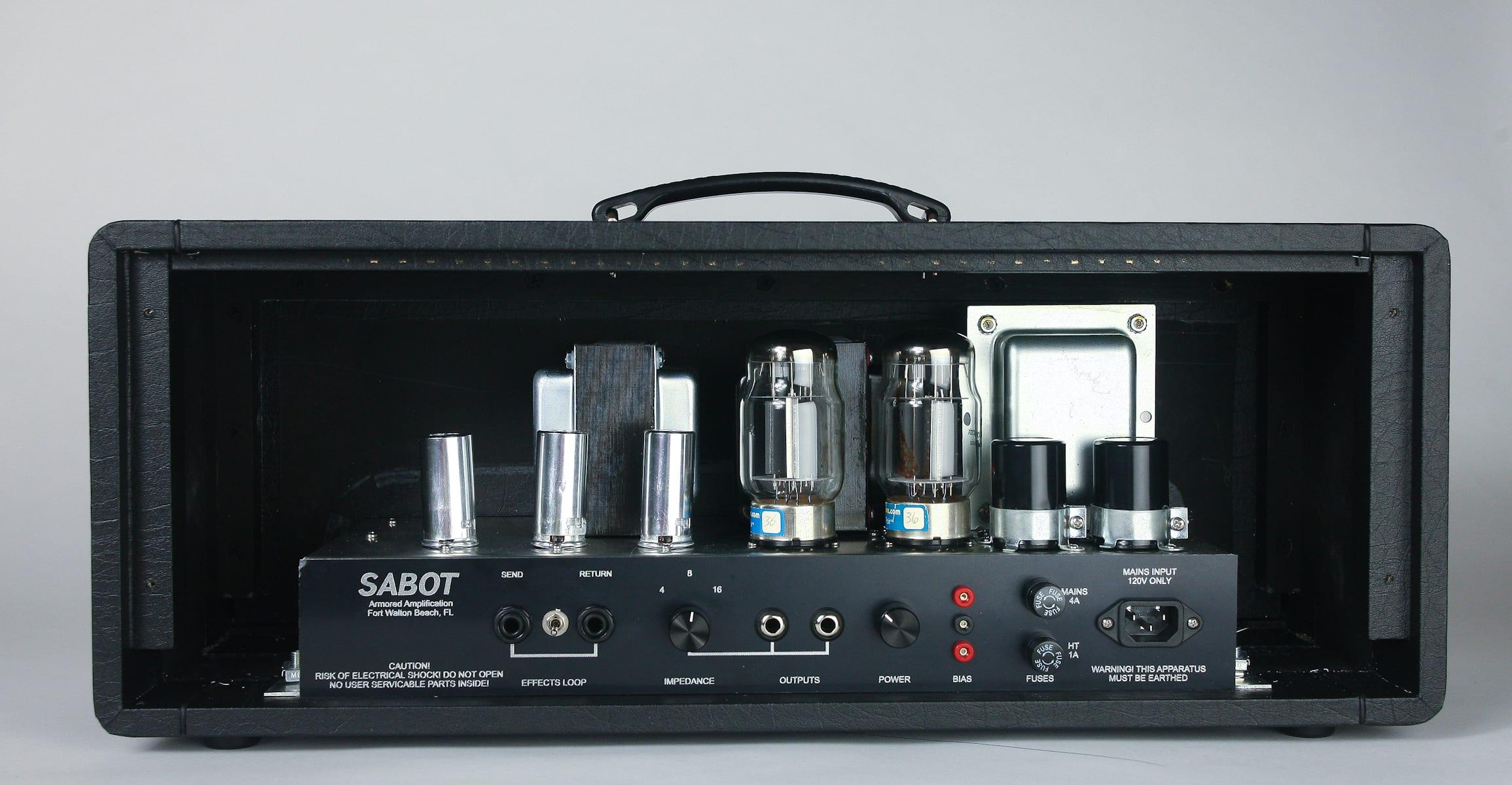 Sabot rear panel