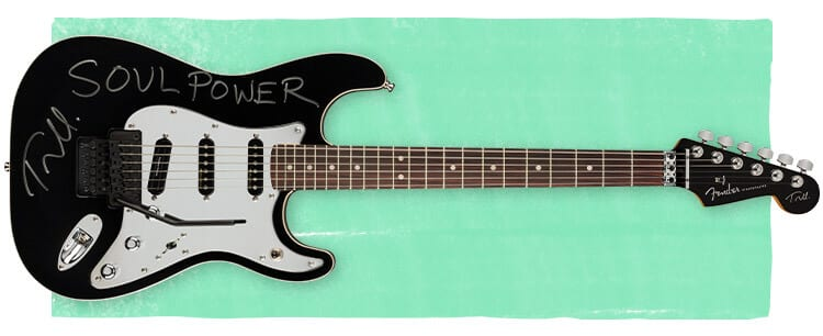 Signed Tom Morello Soul Power Stratocaster