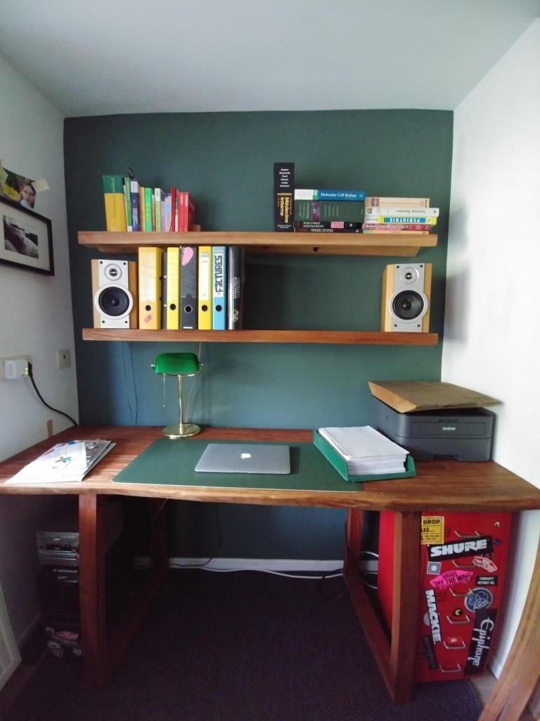 The original shelves