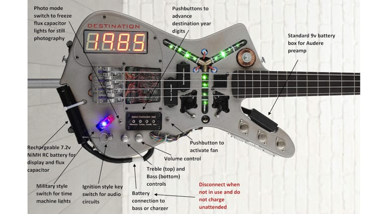 Doner Designs bass control layout