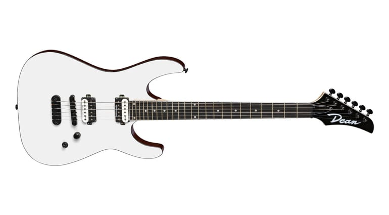 Dean Guitars MD 24 in Classic White and a hardtail