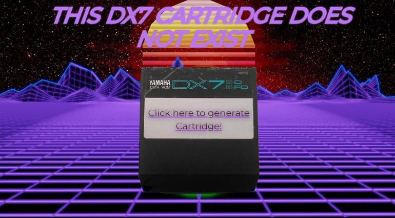 DX7 Cartridge Generator