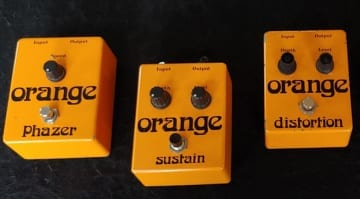 Orange wants to reissue effect pedals from the 1970s