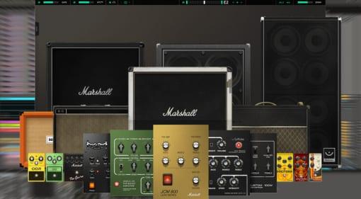 Softube Amp Room and Marshall Cabinet Collection