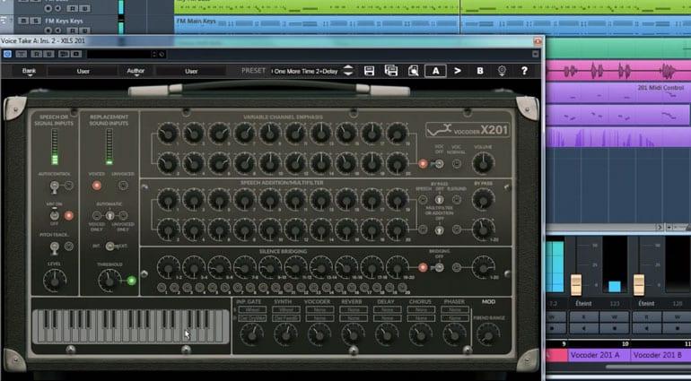 XILS X-201 Vocoder