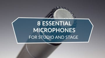 8 essential microphones for studio and stage