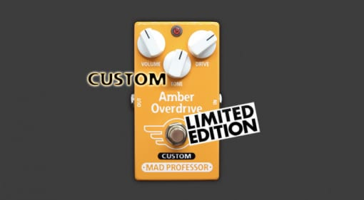 Mad Professor Amber Overdrive with Midas Touch mod