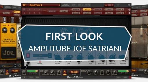 IK Multimedia AmpliTube Joe Satriani Guitar Plug-in