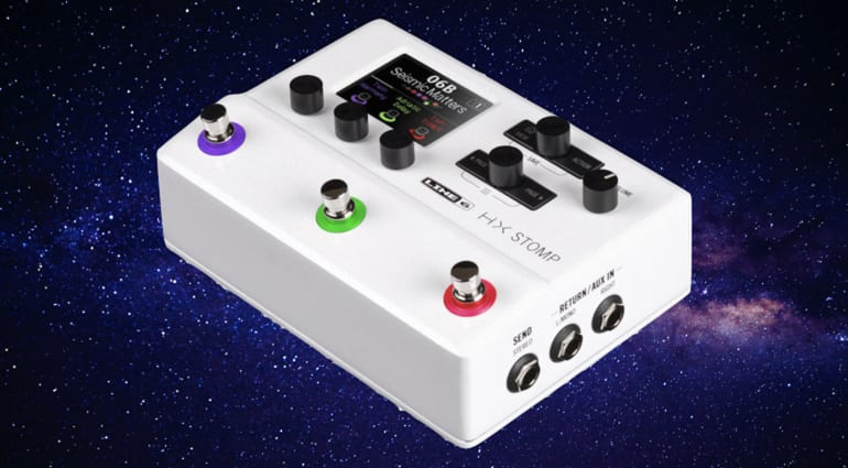 Line 6 HX Stomp Stormtrooper White limited edition