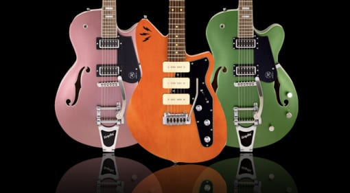 Reverend Ron Asheton and Pete Anderson signature models