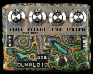 SHIN'S MUSIC DUMBLOID ODS OVERDRIVE SPECIAL SUKIMO LEATHER BLUE MARBLE