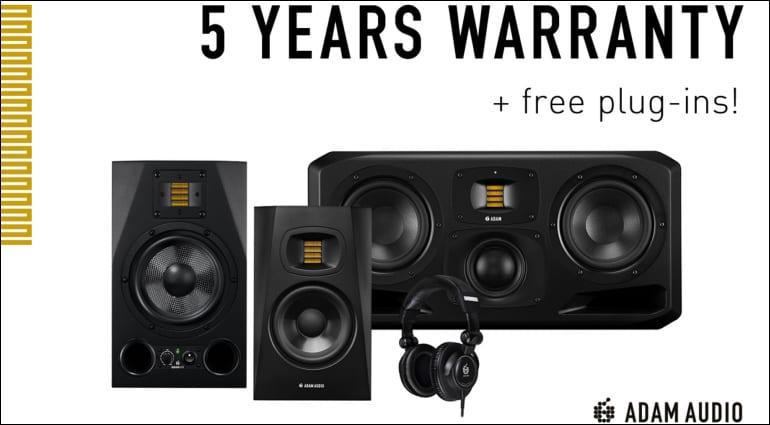 ADAM Audio Free Plug-ins