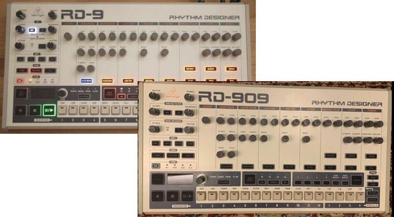 Behringer RD-9 RD-909 Prototype