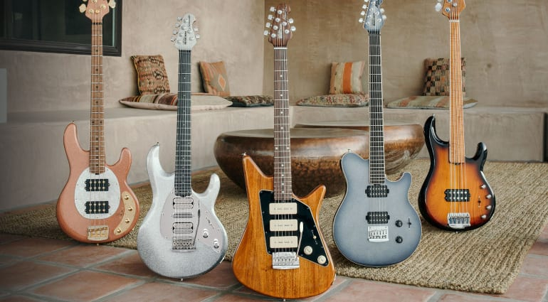 Ernie Ball Music Man unveils July 2020 Ball Family Reserve guitars and basses