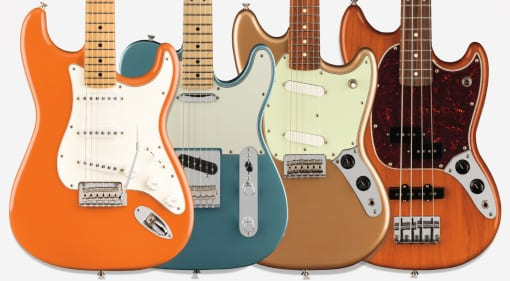 Fender Player Series new models