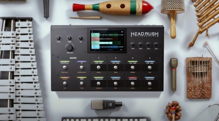 HeadRush Looperbaord firmware 2.0