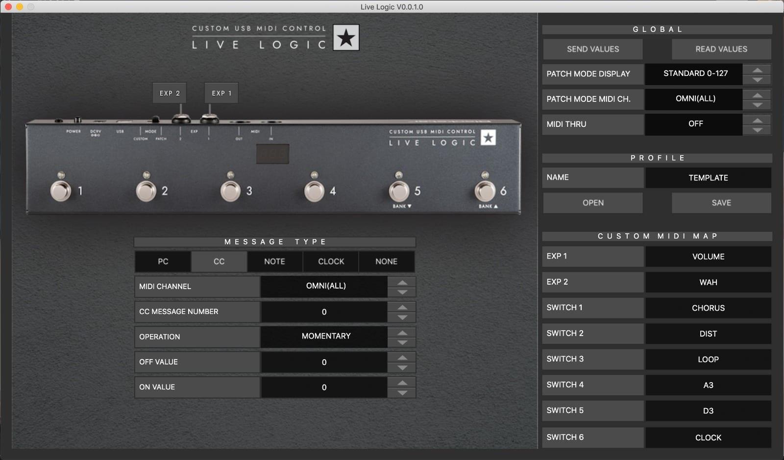 Blackstar Live Logic app